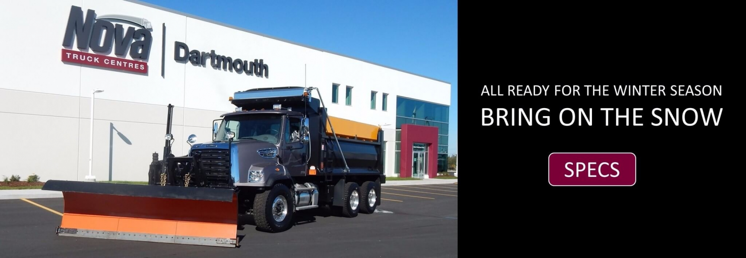 2017 Freightliner Snow Plow - Ready for winter Season!