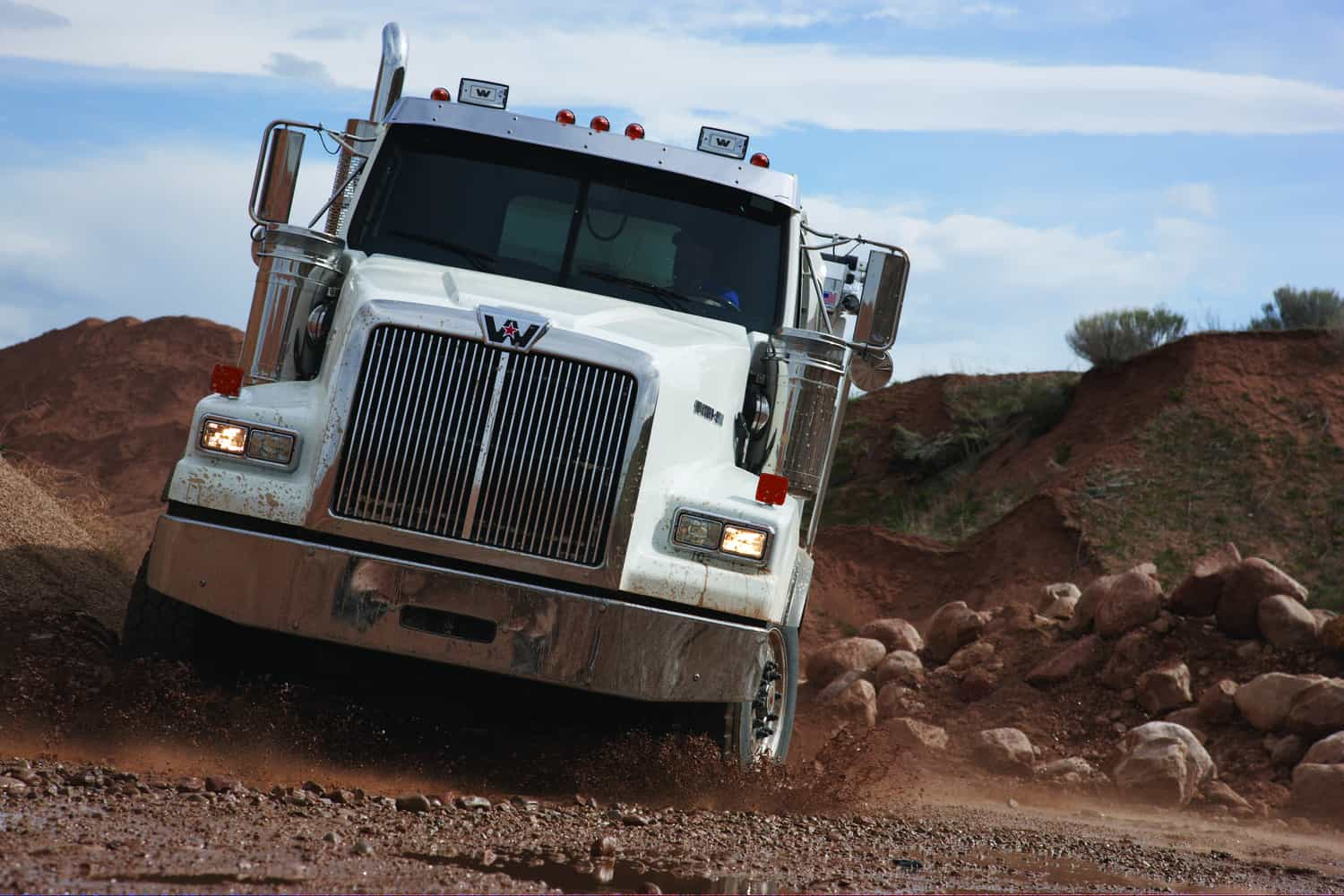 Western Star 4800, construction truck