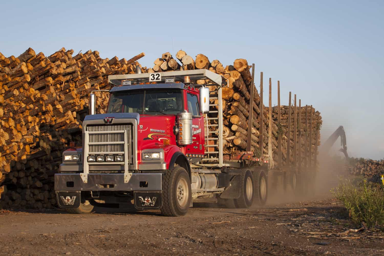 Western Star Logging Truck
