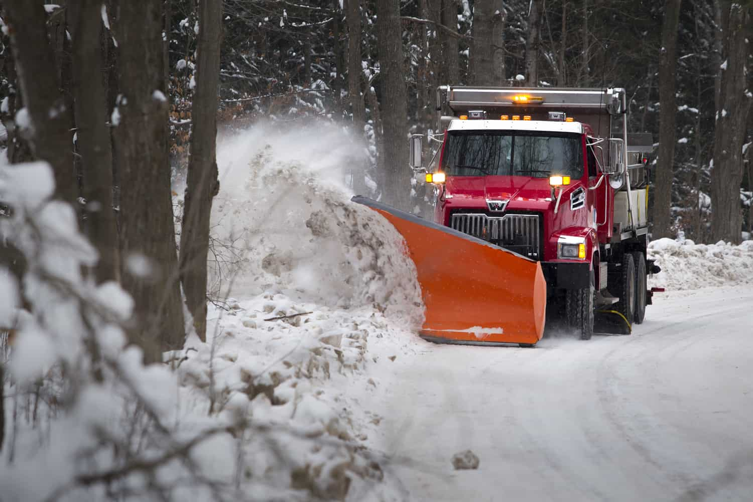 Western Star 4700, municipal plow