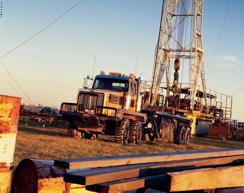 Western Star Oil & Gas truck