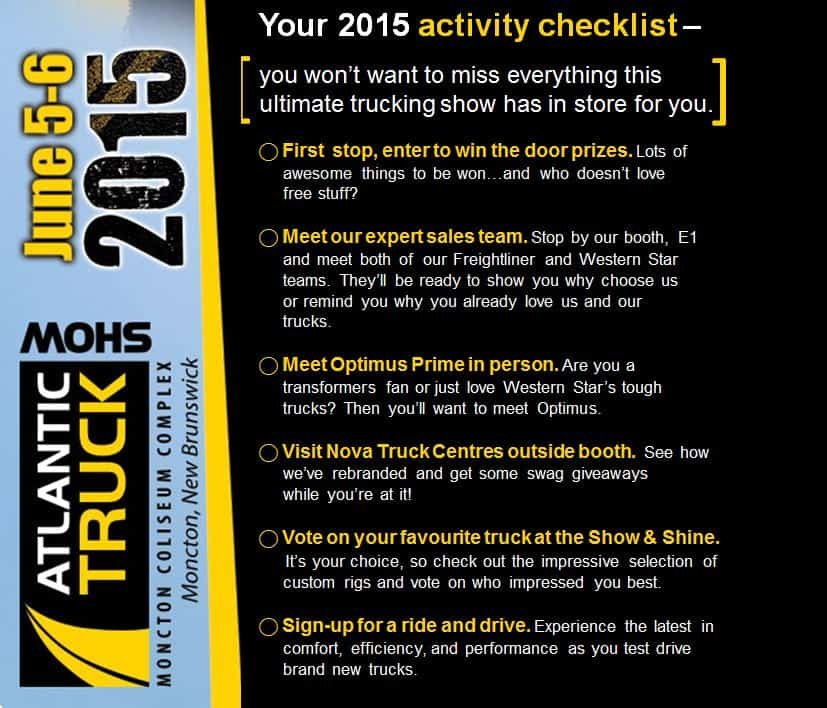 2015 Activity Checklist