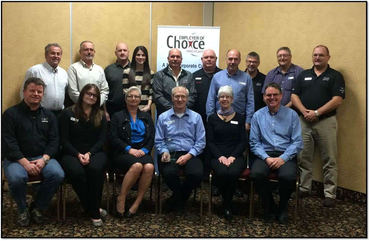 employer of choice award to Nova Truck Centres