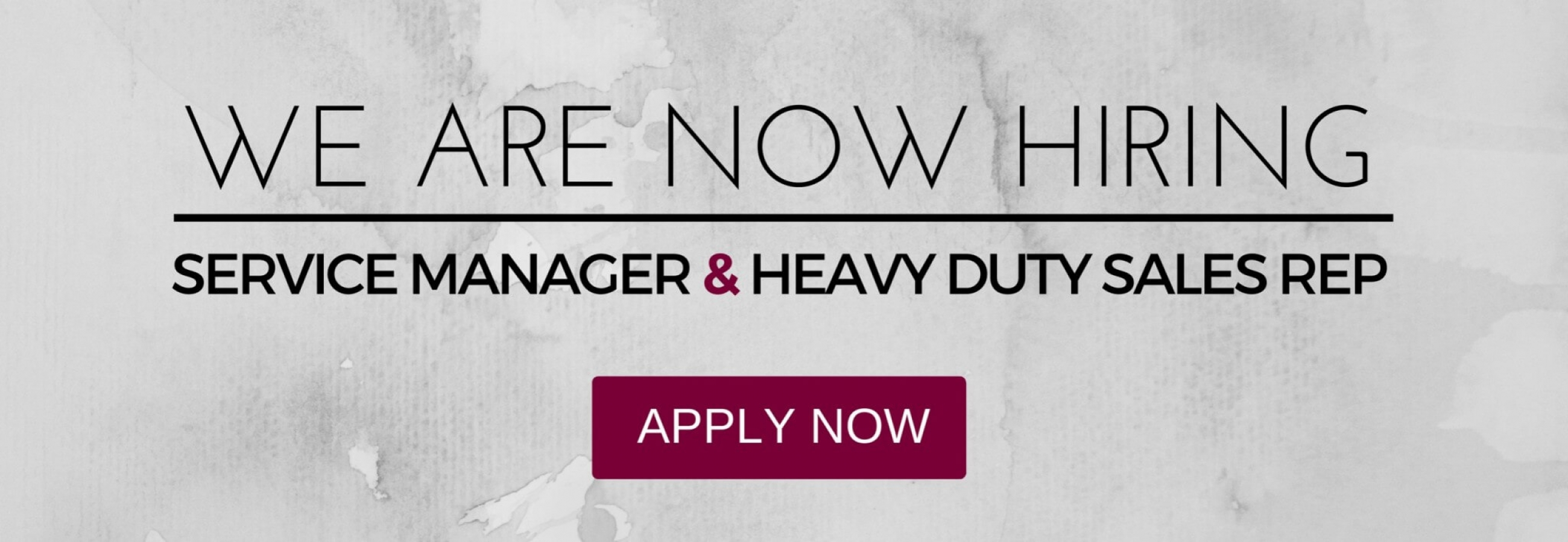 recruitment_service manager_Heavy DUty Sales rep