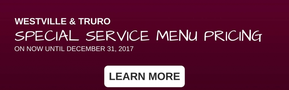 HOMEPAGE SLIDER- SERVICE MENU PRICING