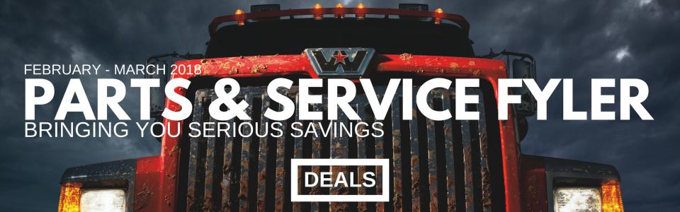 Nova Parts & Service Flyer